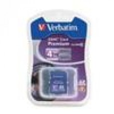 Verbatim SD Card 4GB SDHC Class 4, In Blister pack (LS)