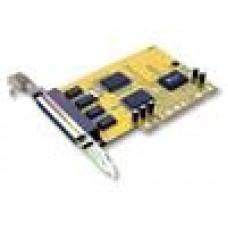 Sunix 4 Port Serial PCI Card SER5056A , 4 ports DB9M/25M