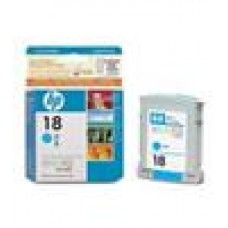 HP NO 18 Cyan Ink Cartridge
