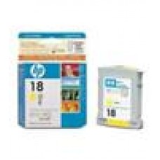 HP NO 18 YellowInk Cartridge