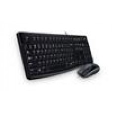 Logitech MK120 Keyboard & Mouse Combo Quiet typing and Spill resistant High-definitiion optpical tracking Thin profile 3yrs wty - 920-002586