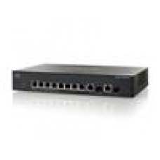 Cisco 10-port (8 x 10/100/1000 + 2 x combo Gigabit SFP) L3 Managed Switch