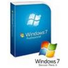 MS Win7 Pro 32Bit SP1 OEM OEM DVD Professional (LS)