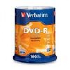 Verbatim DVD-R 4.7GB 16x 100Pk Advanced AZO, Spindle
