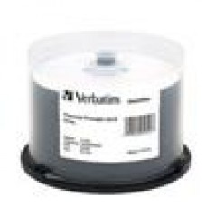 Verbatim CD-R 700MB 52x 50Pk White Thermal, Spindle (LS)
