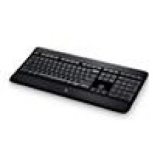 Logitech K800 Wireless Keyboard Adjustable Backlit Illumminum Hand Proximity Detection PerfectStroke key system 3yr wty - 920-002361