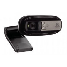 Logitech C170 5MP USB Webcam Built-in mic noise reduction Pan Tilt Zoom Video & photo capture Face tracking Motion detection Universal Clip 960-000761