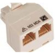 Cabac RJ12 T M-F-F Adapter Coupler (LS)