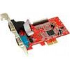 Condor 2 x Serial x 1 Parallel MOSCHIP - GB8 PCIe