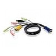 Aten KVM SPHD15M - 3M Cable Audio, USB AM
