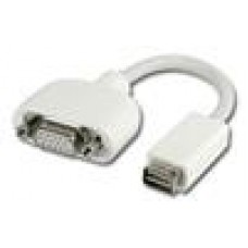 C/Land Mini DVI-VGA Adapter Suits Mac Notebooks (LS)