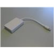 8ware Mini Active DisplayPort To DVI Adapter, White
