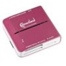 Connectland USB3.0 Card Reader Pink, In Blister Pack (LS)
