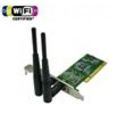 Edimax N300 PCI Adapter Card 300Mb, Dual Aerial/802.11bgn (LS)