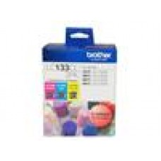 Brother LC-133 3x Colour Value 3 PACKS, CYAN, MAGENTA, YELLOW