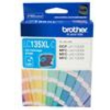 Brother LC-135XLC Cyan Ink Cartridge- MFC-J6520DW/J6720DW/J6920DW and DCP-J4110DW/MFC-J4410DW/J4510DW/J4710DW - up to 1200 pages