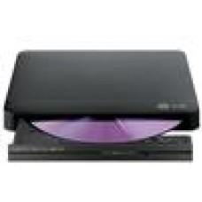 LG Silm Ext  DVD Writer Black, 24x, USB2.0 (LS)