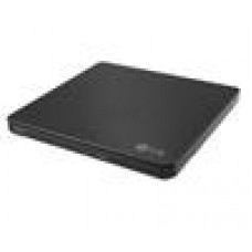 LG GP60NB50 8x Ultra Slim Portable External USB DVD Drive Burner - M Disc Silent Play Jamless Play