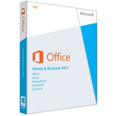 MS Office Home&Business 2013 DVD/Word/Excel/PPT/ON/Outlook(LS)