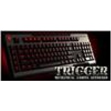 CoolerMaster Trigger Red LED, Gaming, Full backlit