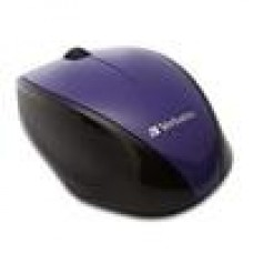 Verbatim MultiTrac Purple Mice Blue LED, Wireless Optical (LS)
