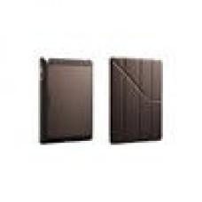 Coolermaster Yen Folio Brown iPad, Carbon Texture,Wake-up (LS)