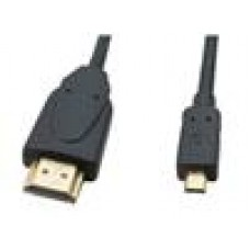 Cabac HDMI to Micro HDMI 1M HDMI Cable V1.4 Type A-D Micro(LS)