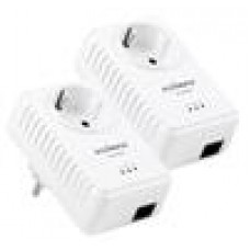 EOL Edimax 500Mps Nano Powerline Adapter Kit, Integrated Socket