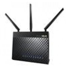 ASUS RT-AC68U Wireless Gigabit Router, Dual-Band Tri-Stream AC1900, 5 x LAN, 2 x USB, 3 x High-performance Antennas, MIMO, Beamforming, Smart Connect,