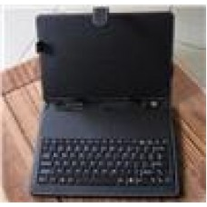 Tablet 7.9 Case+USB KB Black with clips. Micro USB 7.85