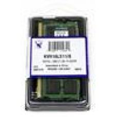 Kingston 8GB (1x8GB) DDR3L SODIMM 1600MHz 1.35V / 1.5V Dual Voltage ValueRAM Single Stick Notebook Memory