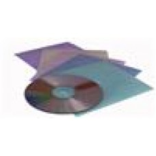 Plastic White CD Sleeves 100PK 100 Pack