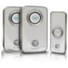 Swann Door Chime - Mains Power Wireless With 2 Receiver