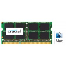 Crucial 2GB DDR3 1066 for MAC 1x 2GB SODIMM  1.35V (LS)