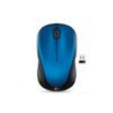 Logitech M235 Wireless Mouse Blue Contoured design Glossy Comfort Grip Advanced Optical Tracking 1-year battery life - 910-003392