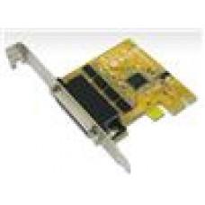 Sunix 4 Port PCIE Serial Card RS232,Plug N Play, Full Height