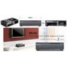 Silverstone ML06B HTPC Case Black, USB3.0, MINI-ITX (LS)