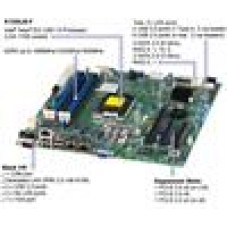 SuperMicro UP E3-1200v3 mATX 4x DDR3/2xGbE/SATA RAID/C224