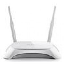 TP-Link TL-MR3420 3G/4G Wireless N Router 2.4GHz (300Mbps) 802.11bgn 4x100Mbps LAN 1x100Mbps WAN 1xUSB 2x5dBi Antenna (replaced TL-MR3220)