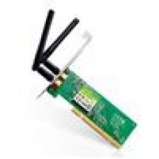 TP-Link TL-WN851ND N300 Wireless N PCI Adapter 2.4GHz (300Mbps) 802.11bgn 2x2dBi Omni Directional Antennas MIMO QSS ~NWTL-TF3239DL