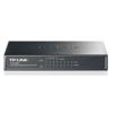 TP-Link TL-SG1008P 8-Port Gigabit Desktop Unmanaged Switch with 4-Port PoE 55W Fanless IEEE 802.3af Support MAC address 802.1p/DSCP QoS