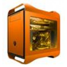 (LS) BitFenix Prodigy mATX Orange Side Window USB3.0 SoftTouch