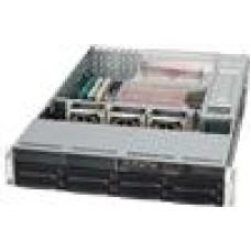 Supermicro 2U 1+1 700W Rack 8x 3.5