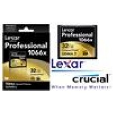 Lexar 1066x 32GB Compact Flash CF Card Upto 160MB/s VPG-65 Standard (LS)