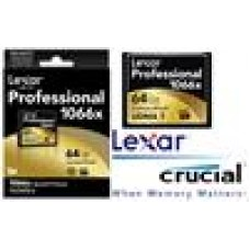 Lexar 1066x 64GB Compact Flash CF Card Upto 160MB/s VPG-65 Standard (LS)