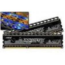 (LS) Crucial 8GB (2x4GB) DDR3 1600MHz Ballistix Tracer UDIMM CL8 Orange&Blue LED