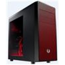 (LS) Bitfenix Neo Black + Red Mesh Side ATX Windowed case. USB3.0+USB2.0
