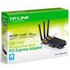 TP-Link Archer T8E (EOL-> Archer T9E) AC1750 Wireless Dual Band PCI Express Adapter 1750Mbps 5GHz (1300Mbps) 2.4GHz (450Mbps)
