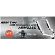 Silverstone ARM1 Silver Color Two Monitor, Support 2-10KG (LS)