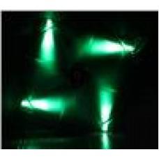 BitFenix Spectre 20cm LED Fan Green  LED w/ Tranparent Frame (LS)